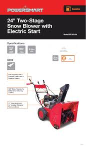 home depot black friday spring 2016 date powersmart 24 in 212cc 2 stage gas snow blower db765124 the