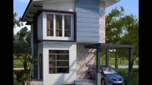 modern narrow house narrow modern small house design 14 youtube