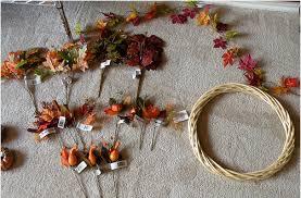 25 days of dollar tree diy day 1 fall wreath pincher