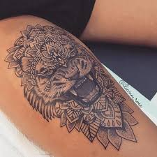 the 25 best thigh piece tattoos ideas on pinterest thigh piece