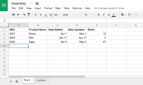 how to manage inventory in google sheets with google forms how