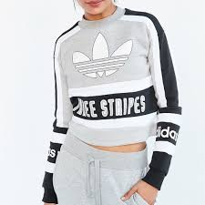 adidas crop top sweater 33 adidas sweaters adidas original 80s moto pullover