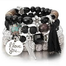 charms bead bracelet images Crystal bead bracelets for women vintage bracelet female jewelry jpg
