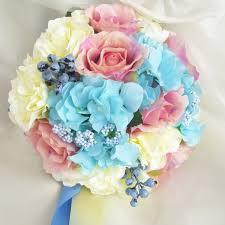Wedding Bouquets Cheap Wedding Bouquets Cheap Silk Flower Wedding Bouquet Fall Vivid