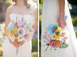 wedding trend paper flowers weddings magazine