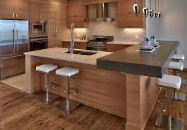 cuisine et ilot central meuble ilot central cuisine quel espace entre meuble de cuisine et
