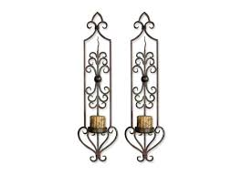 Uttermost Metal Wall Decor Sconce Uttermost Privas Candle Wall Sconce Oversized Candle Wall