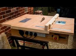 Skil Table Saw Homemade Table Saw With Built In Router And Inverted Jigsaw 3 In 1
