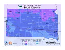 South Dakota Map With Cities When Can I Plant In South Dakota