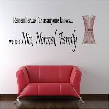 stick on wall nice normal family custom vinyl wall decals stick on wall art