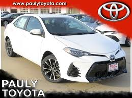 toyota awd wagon 334 new toyotas in stock pauly toyota