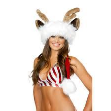 Bad Santa Halloween Costume Deluxe Reindeer Santa Hat Jv445 49 00 Clubwear Pole
