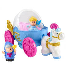 Cinderella S Coach Disney Princess Cinderella U0027s Coach By Little People Walmart Com