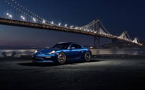 Porsche 911 Gt4 - photos porsche 911 gt4 blue night bridges auto night time 2560x1600