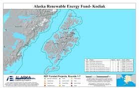 Kodiak Alaska Map by Glynx