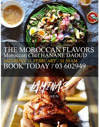 cuisine by hanane moroccan flavors with chef hanane daoud lebtivity
