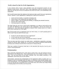 Free Business Plan Template Nz by Non Profit Business Plan Template 18 Free Word Pdf Documents