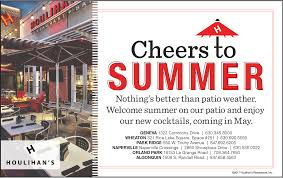 The Patio Orland Park Menu by It U0027s Patio Weather Chicago Suburban Family