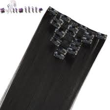 Cheap Thick Clip In Hair Extensions by Popular Thick Clip In Extension Buy Cheap Thick Clip In Extension