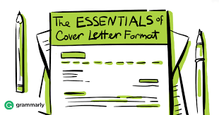 the essentials of cover letter format grammarly blog