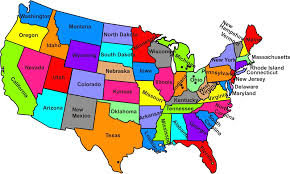united states map with state names and capitals quiz map of the states of the us clipart united states map with