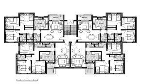 multi unit floor plans apartment building design drawing home design ideas