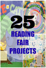 25 reading fair projects for lower elementary kids to do for