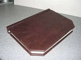 leather photo book simple leather book binding using power tools bsg edition 10