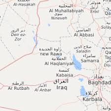 map new map iraq news map in news from baghdad hawija operation and