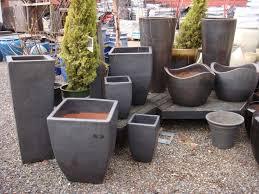 large ceramic planters planter designs ideas also outdoor 2017