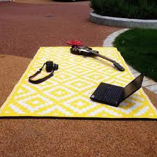 Yellow And White Outdoor Rug Nirvana Yellow And White Outdoor Rug On Sale Fast Delivery