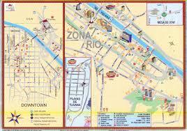 Map Of Baja Mexico tijuana tourist map tijuana mexico u2022 mappery