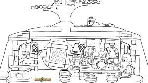 lego star wars ship coloring pages friends printable free hobbit