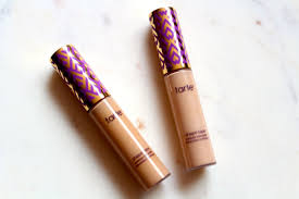 tarte shape tape concealer in light neutral tape shape contour concealer review swatches face made up