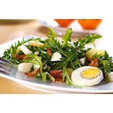 salade de pissenlit recette alsacienne