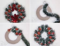 christmas wreaths to make how to diy easy sweet christmas wreath see more beautiful diy