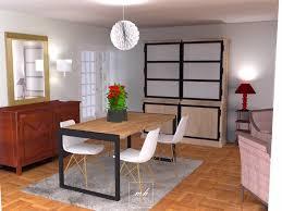 deco bois brut table salle a manger bois brut moderne chambre chaise en bois