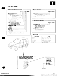 honda cr v 1997 rd1 rd3 1 g workshop manual
