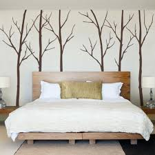 Tree Bed Frame Bed Frame Wall Decal Winter Tree Decal Winter Tree Wall Decal