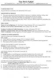 how to write a chronological resume examples of resumes resume
