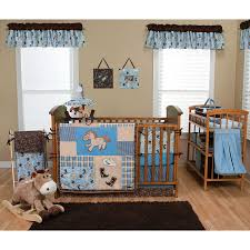 Farm Crib Bedding by Boy Crib Bedding Green And Brown Damask Collection Sweet Jojo
