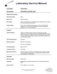 arterial blood gas abg
