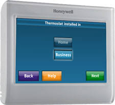 Total Comfort Control Honeywell Rth9580wf Smart Wi Fi 7 Day Programmable Color Touch