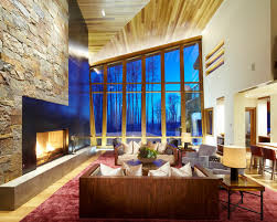 glamorous chalet living room designs that wows