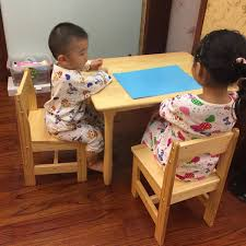 solid wood childrens table and chairs usd 47 95 solid wood children table and chairs set kindergarten