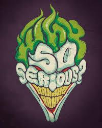 tutorial gambar joker why so serious 30 incredible joker illustrations inspirationfeed