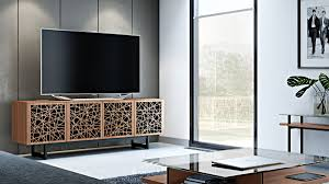 Tv Console Cabinet Design Entertaining Bdi