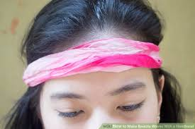 headband waves how to make beachy waves with a headband 5 steps with pictures