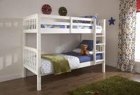 GFW Novaro White Wooden Bunk Bed By GFW - Joseph bunk bed