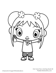 kai lan coloring pages ni hao kai lan coloring pages printable